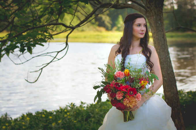 Southern summer wedding  by L&A Event Designs - 012