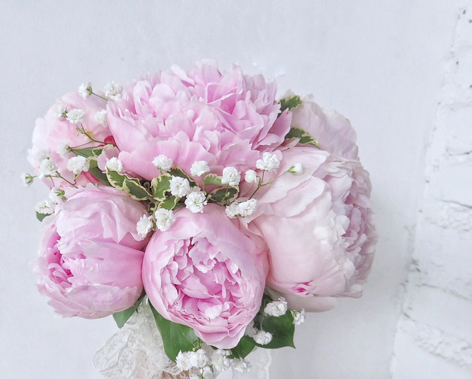 The blush of peonies  by Royal Petals - 008
