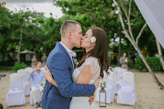 ILZE & MARTINS Wedding by Courtyard by Marriott Bali Nusa Dua - 033