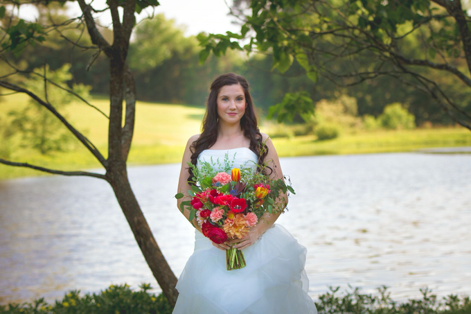 Southern summer wedding  by L&A Event Designs - 014
