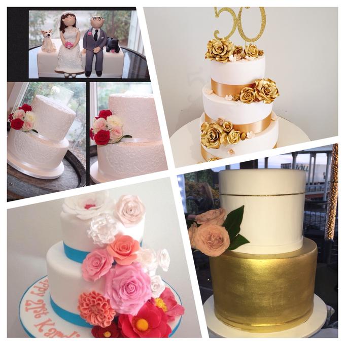 Custom designed wedding cakes . by Cake4me - 006