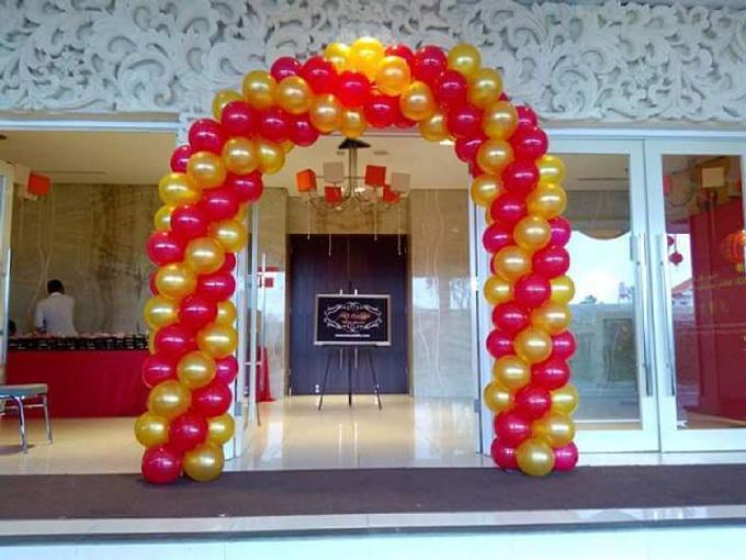 helium balloons by Peony Garden Bali - 016