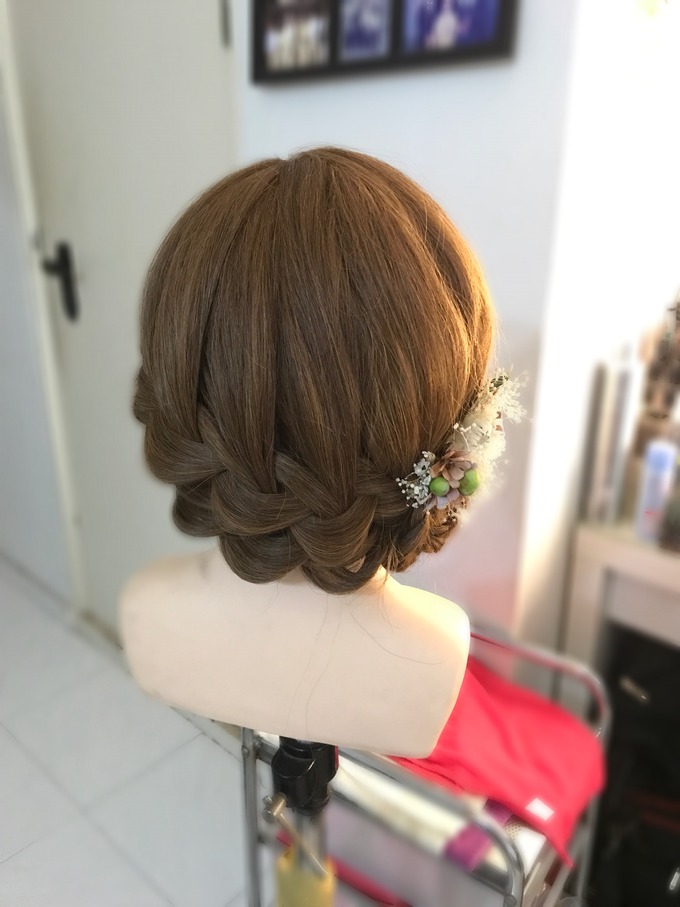 Bridal Hairstyles  by Zinny Theint Make-up Artistry - 010