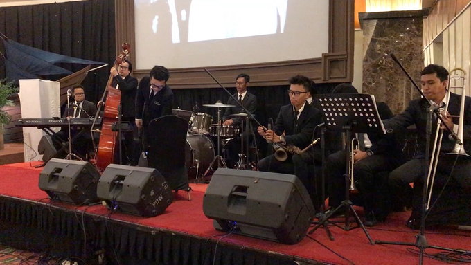 Add To Board Wedding Big Band For Tia And Ikhwal By Ibee Music