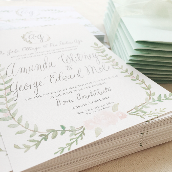 Botanical Suite by Meilifluous Calligraphy & Design - 001