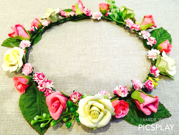 Flower Crown - Import Flowers  by Wedding Needs - 015