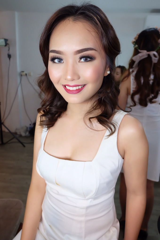 Pre-wedding makeup by Troy Makeup Artist - 013