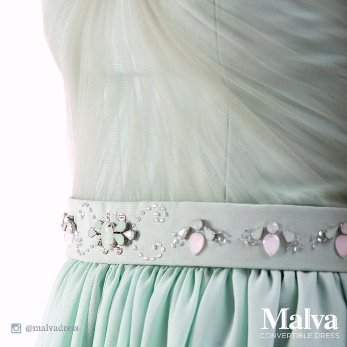 Shell Dress by MALVA Bridesmaids - 008