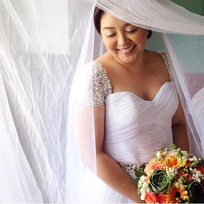 PLUS SIZE WEDDING DRESS by TS BRIDAL BALI - 007