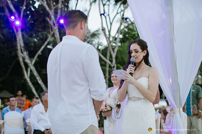 Amanda & Nicholas Wedding by Courtyard by Marriott Bali Nusa Dua - 031