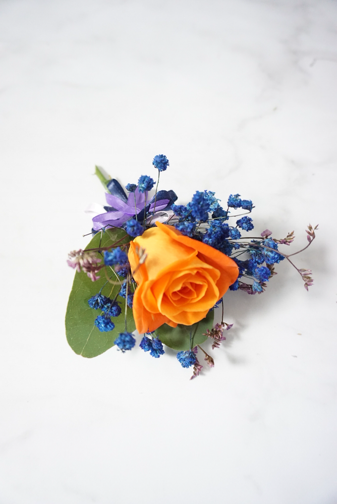 Candy crush wedding bouquet by Royal Petals - 006