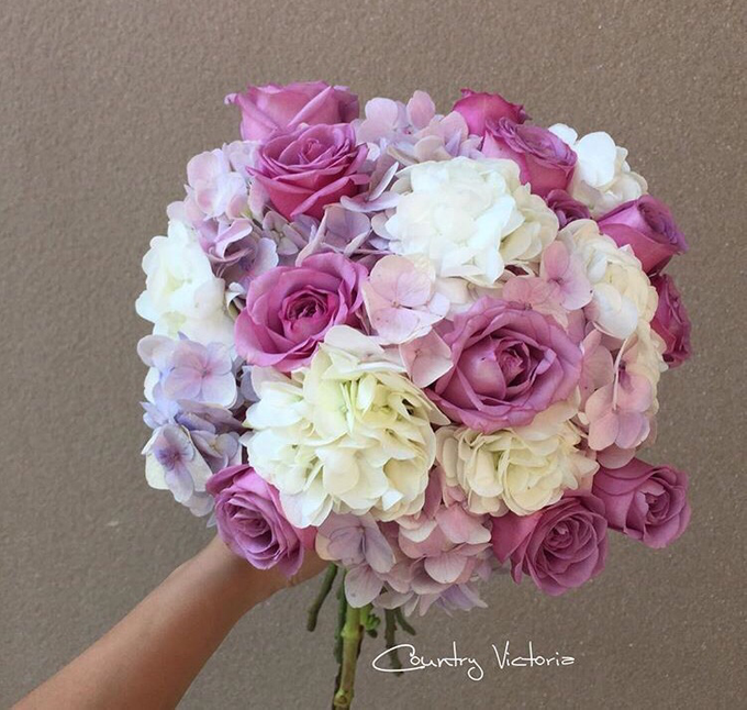 Bridal Bouquets by Country Victoria - 026