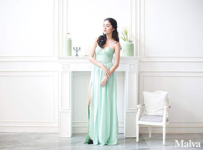 Shell Dress by MALVA Bridesmaids - 006