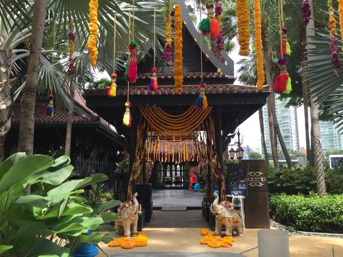 Indian Wedding by Shangri-La Hotel, Bangkok - 006