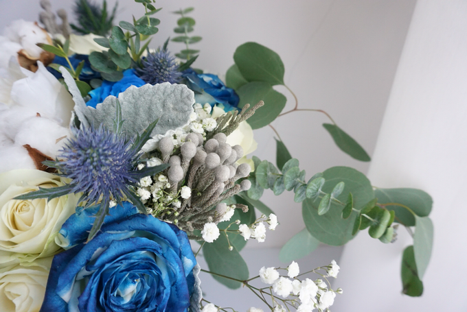 The royal rustic blue by Royal Petals - 002