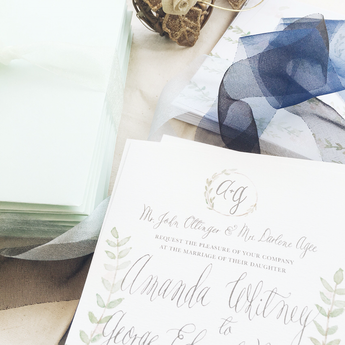 Botanical Suite by Meilifluous Calligraphy & Design - 003