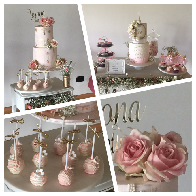 Custom designed wedding cakes . by Cake4me - 004