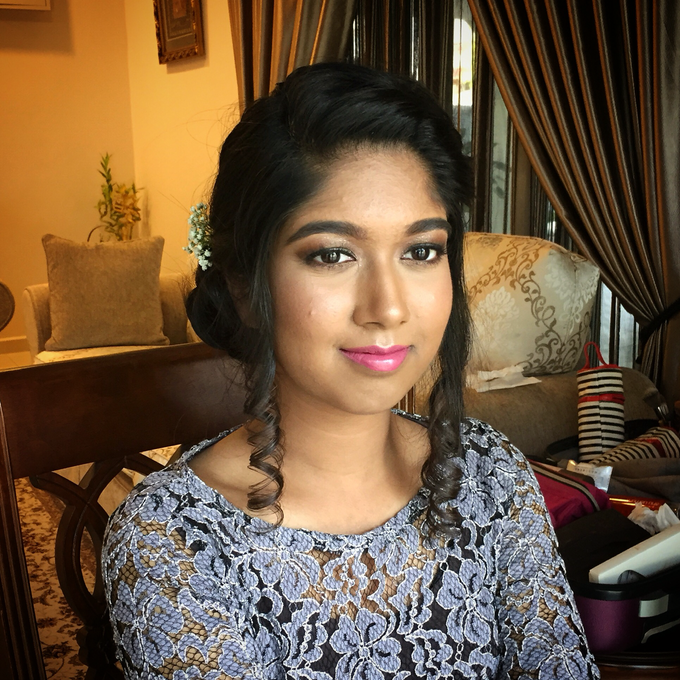 Wedding Hairdo and Functions Makeup  by Lin Elier NaturalBeauty - 004