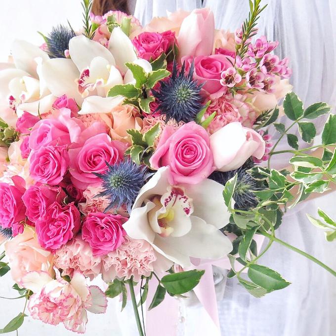 Gardenish pink by Royal Petals - 002