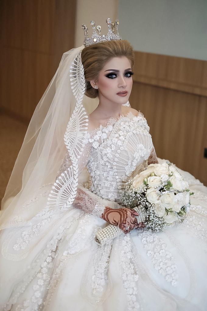 Wedding Hanun & Yusuf by Imel Vilentcia Make Up Artist - 005