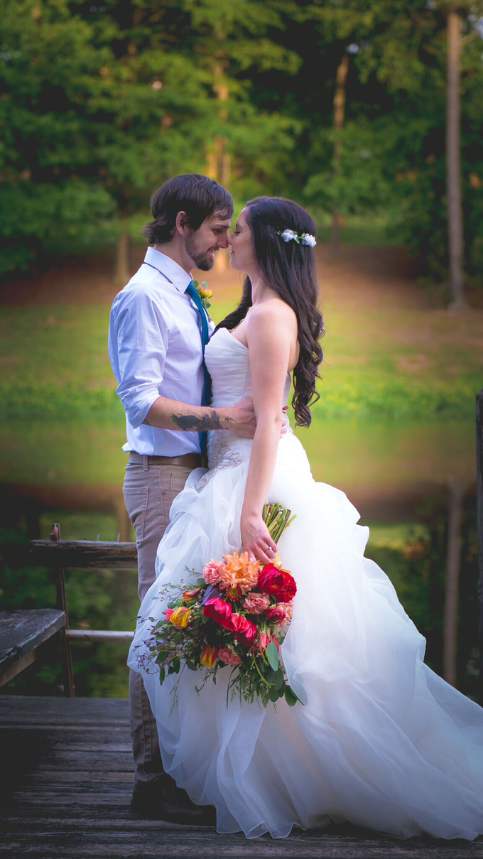 Southern summer wedding  by L&A Event Designs - 040