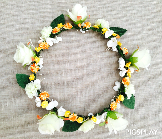 Flower Crown - Import Flowers  by Wedding Needs - 006