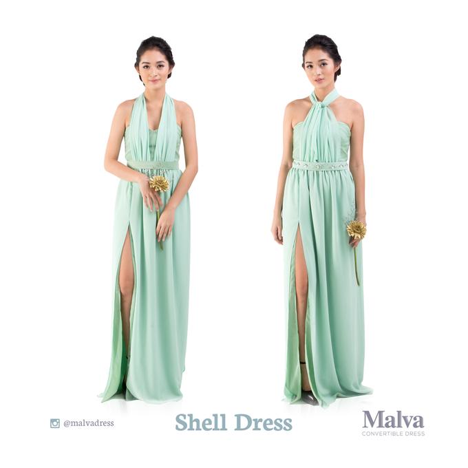 Shell Dress by MALVA Bridesmaids - 011