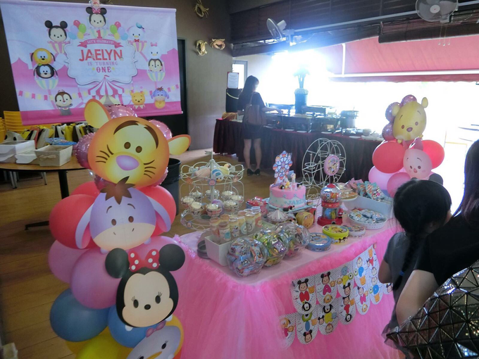Tsum tsum birthday party by ilmare Wedding - 005
