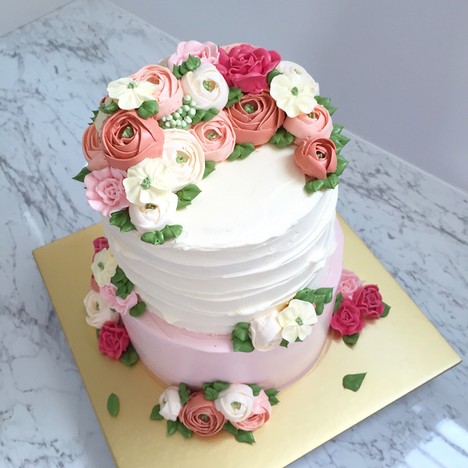 Tiered Cakes  by The Rosette Co - 006