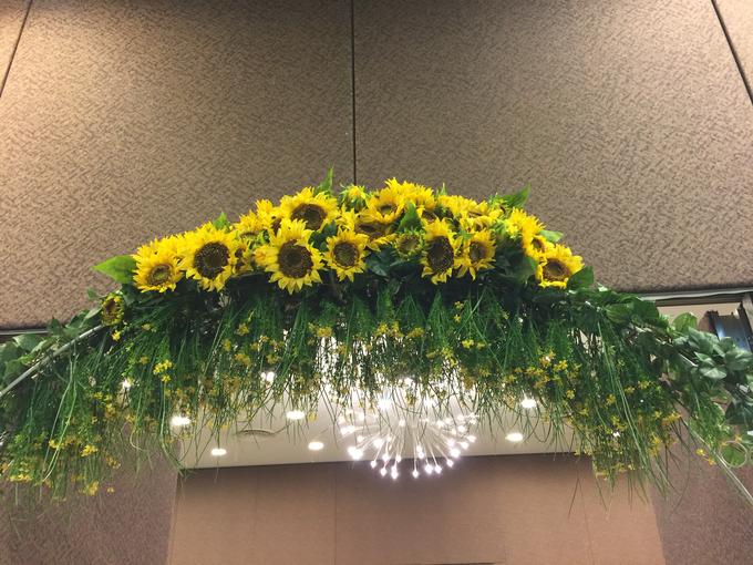 Sunflowers wedding by ilmare Wedding - 019