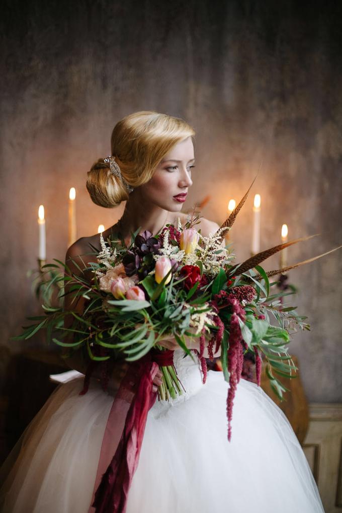 Marsala wedding by Aleksandra Sashina - 003