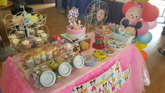 Tsum tsum birthday party by ilmare Wedding - 004