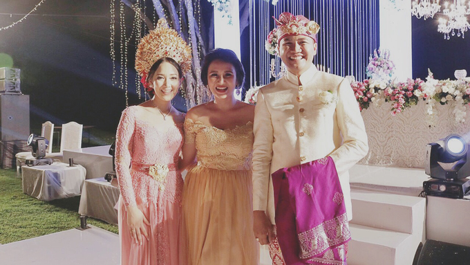 Balinese Wedding Reception of Ina & Dwipa by Tirza Zoraya - 006