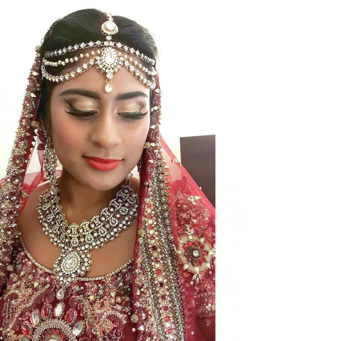 Bee Meera's Wedding by YRegina Makeup - 005