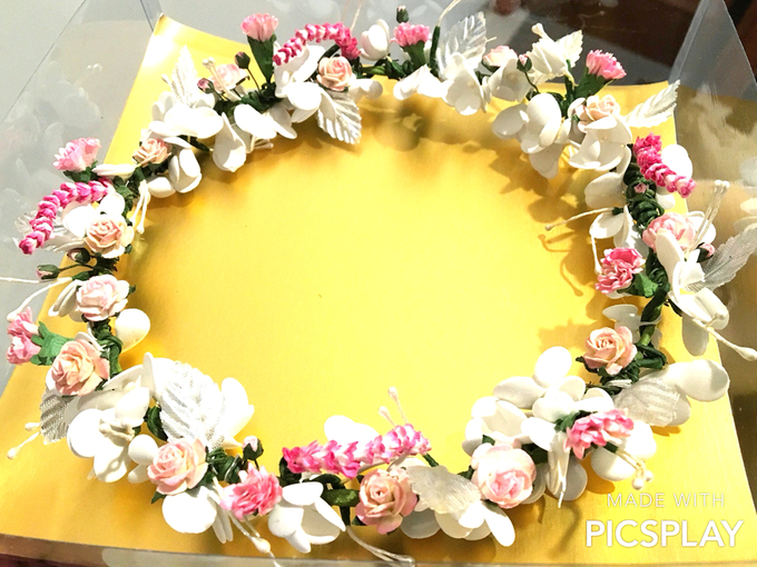 Flower Crown - Import Flowers  by Wedding Needs - 010