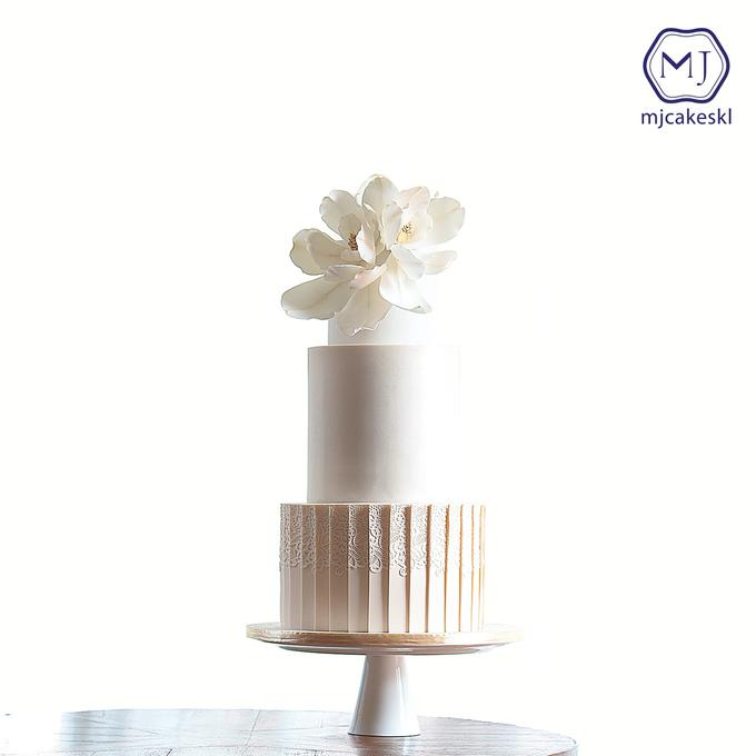 Wedding cakes by MJCakesKL - 007