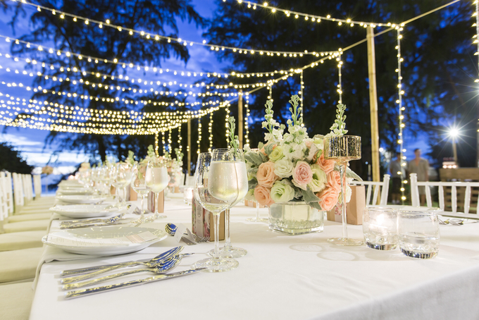 Amazing outdoor wedding setup by Merit Events - 004