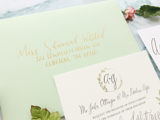 Botanical Suite by Meilifluous Calligraphy & Design - 006