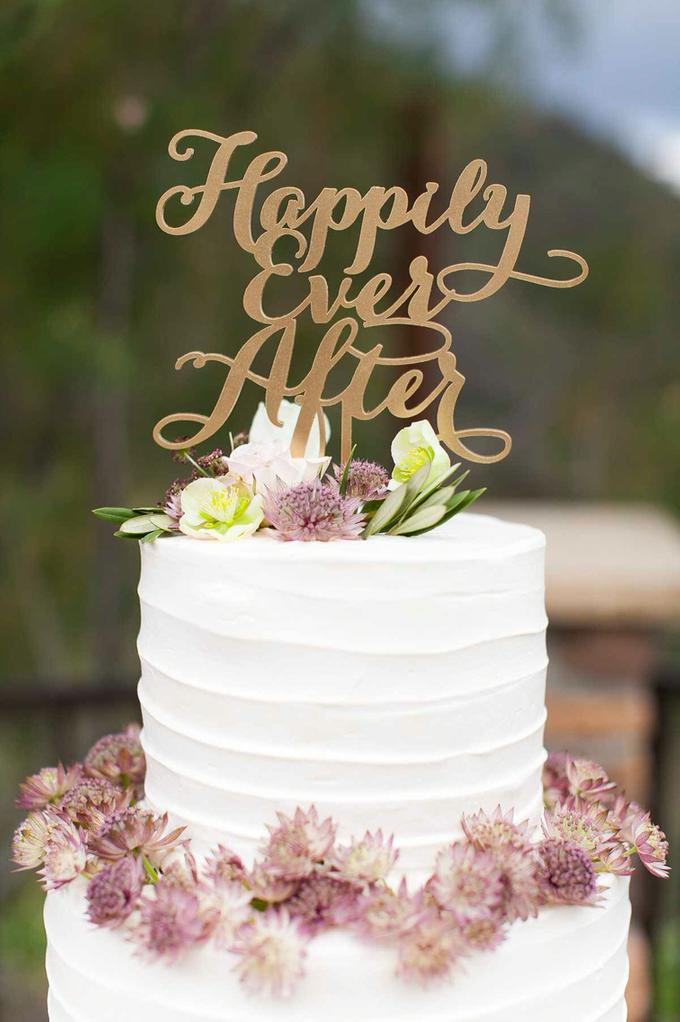 Garden + Lavender Wedding by Shindig Chic - 005