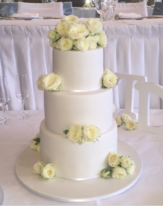 Floral Arrangment Box inspired cake  by Cake4me - 006