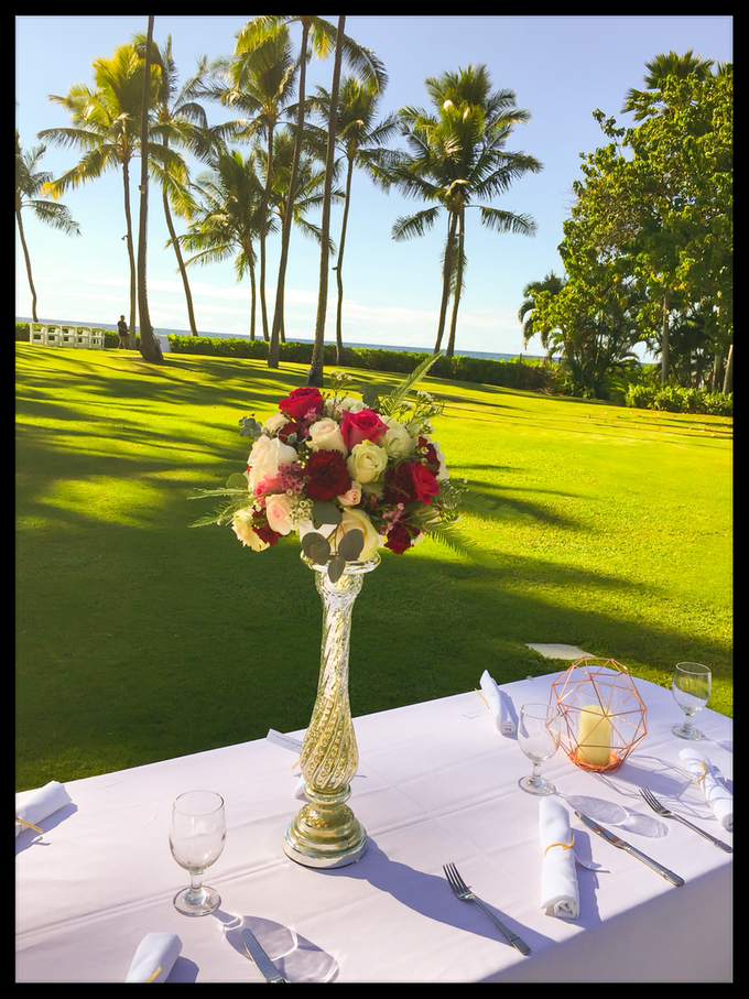 Wedding Floral Design by Bella Amour Events Hawaii - 006