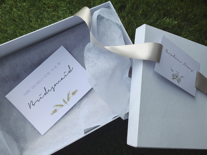 Marcella Prayogi's Bridesmaids Packaging by Palestro Wedding Essentials - 003