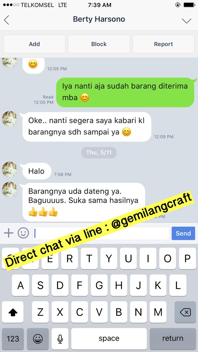 Hampers shipping to Surabaya by Gemilang Craft - 001