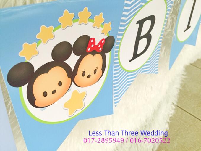 Birthday Decoration by Less Than Three Wedding - 034