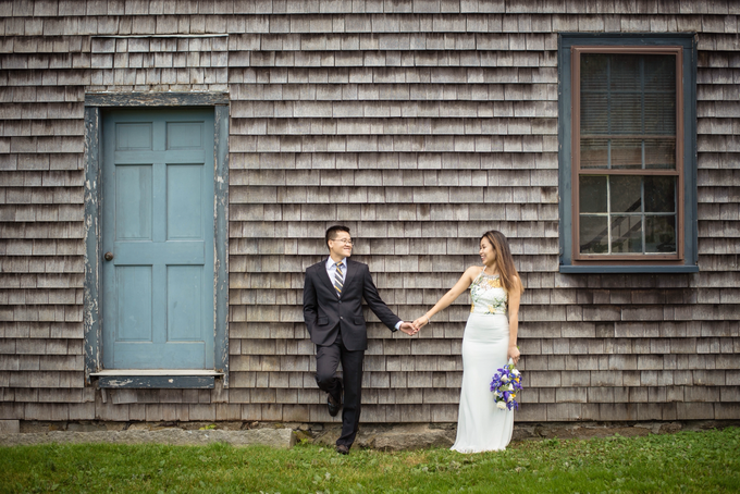 September Wedding in NH  by Claire Cortese Photography - 004