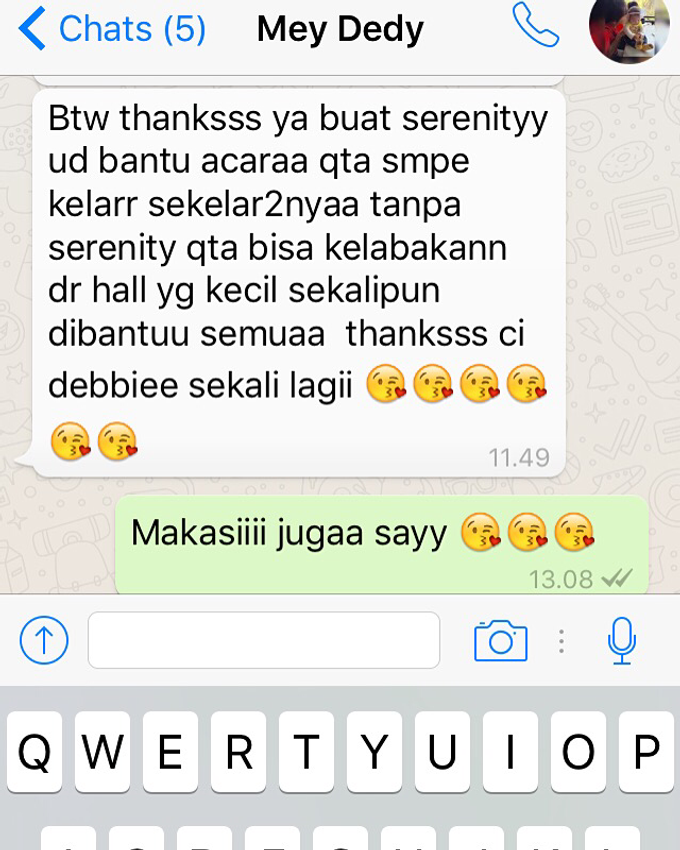 Testimoni from our Lovely Groom n Bride  by Serenity wedding organizer - 012