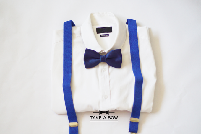 [NEW] TIE SET WITH SUSPENDERS by Take A Bow Tie - 005