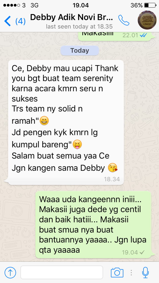 Testimoni from our Lovely Groom n Bride  by Serenity wedding organizer - 004