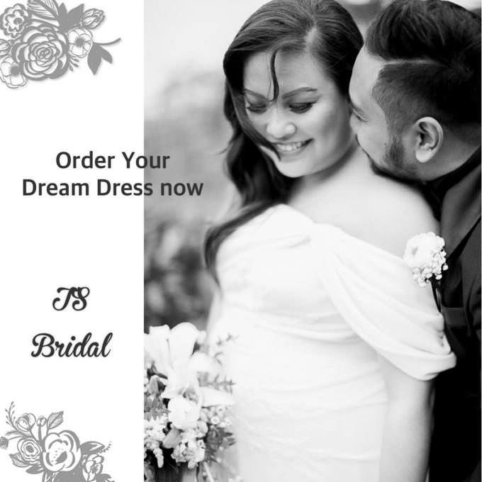 PLUS SIZE WEDDING DRESS by TS BRIDAL BALI - 017