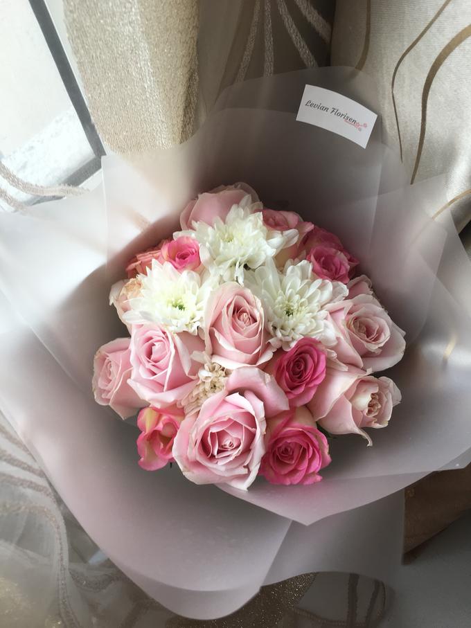 Pink Velvet Bouquet  by Levian Florisen - 004